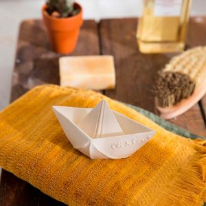 Juguete de baño para bebé - Barco Origami